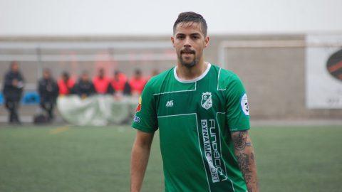 Gonzalo Zamorano jugador CD El Álamo